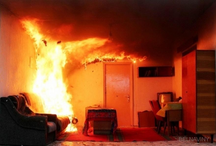 В Витебске на пожаре спасен 29-летний мужчина