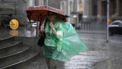 МЧС рассылает SMS-предупреждения: дожди и сильный ветер ожидаются 24 и 25 сентября