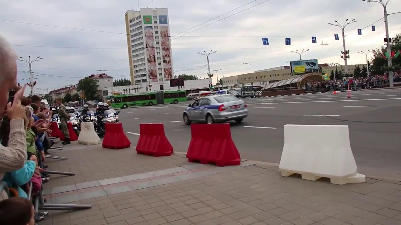 В центре Витебска вечером 16 июля перекроют движение: будет шоу милиции
