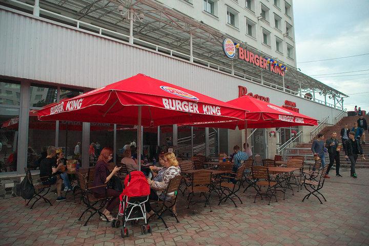 В Витебске открылся Burger King