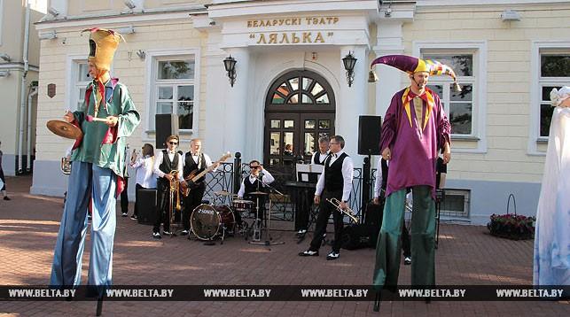 Все спектакли «Кукольного квартала» в Витебске прошли с аншлагом